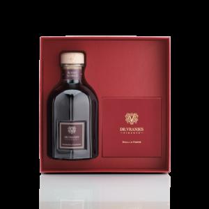 Dr. Vranjes Cofanetto Regalo Diffusore 500 ml con bastoncini e Set Décor Rosso Nobile